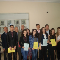"National competition ""Best diploma thesis"" for the AQUACHIM award of the Union of Chemists"